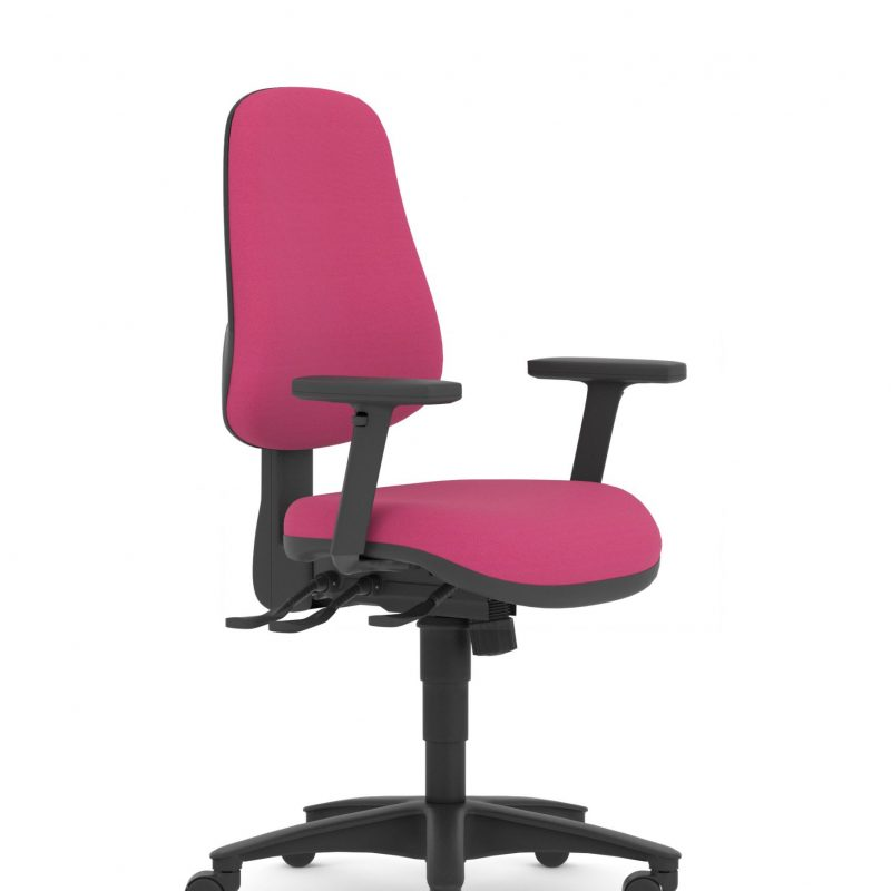 Futurefile Topaz Desk chair with height adjustable arms scaled