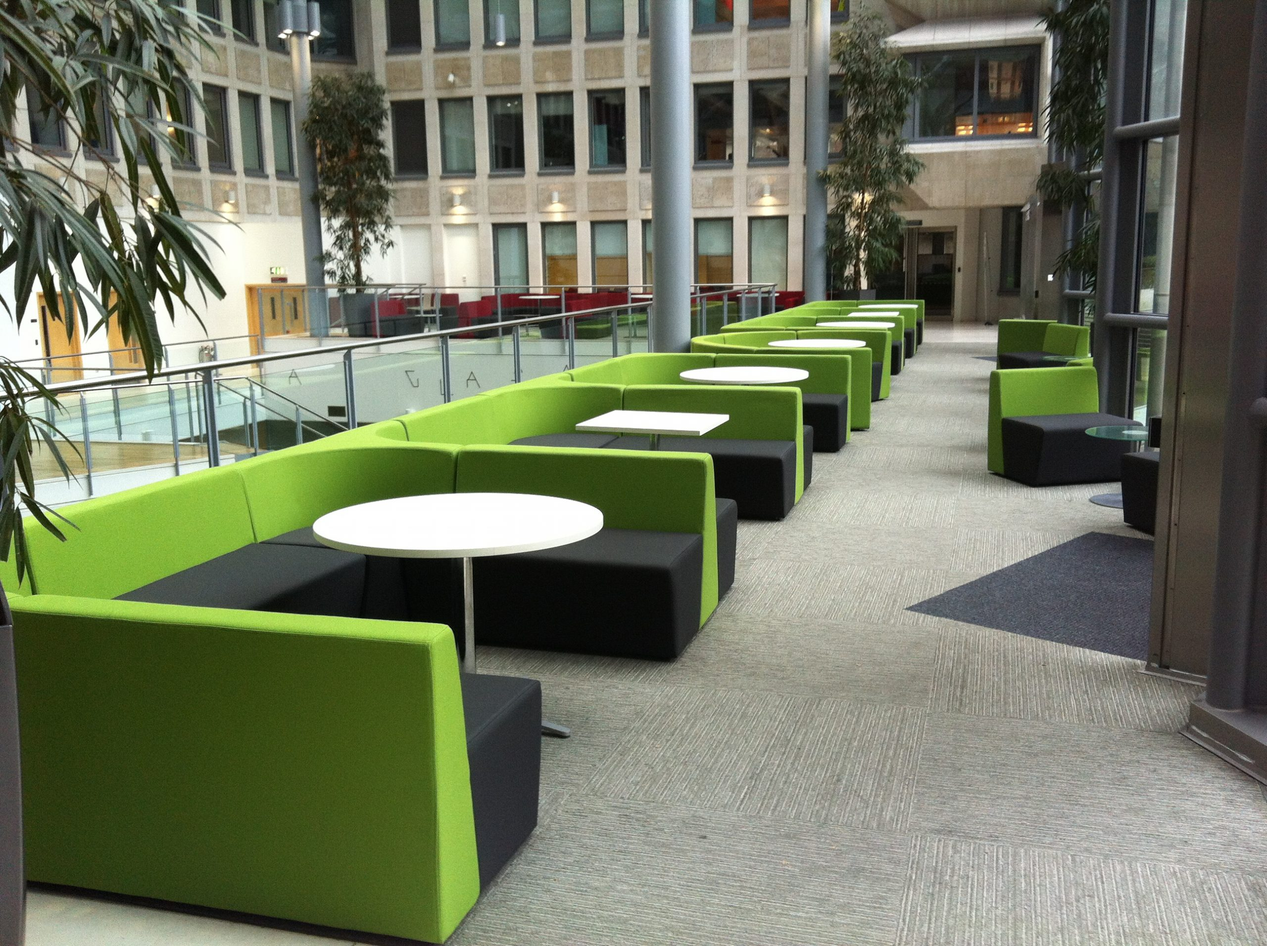 Low Back Sofa Seating Booths scaled