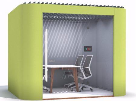 Modern oasis office soft pod UK office furniture