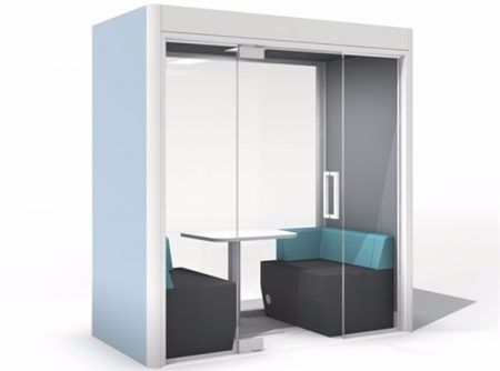 Office pods UK - acoustic enhancement for open space offices