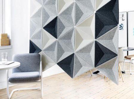 abstracta-aircone-acoustic screen for offices