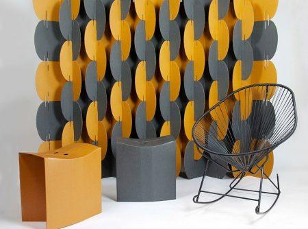 chre_grey_wall room divider office design